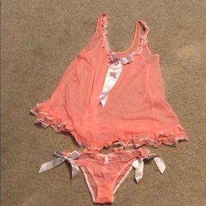 Victoria's Secret tank and panty set